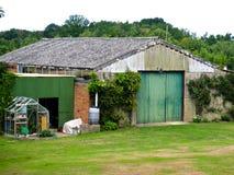 De bouw van het landbouwbedrijf Stock Foto