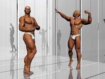 De bouw van het lichaam, levensstijl. Royalty-vrije Stock Afbeeldingen