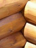 De Bouw van het logboek Stock Foto's