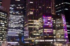 Nieuw internationaal commercieel centrum in Moskou Stock Foto