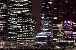 Nieuw internationaal commercieel centrum in Moskou Stock Fotografie