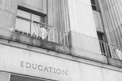 De bouw van het onderwijs Stock Foto's