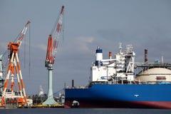 De bouw van het schip Stock Foto's
