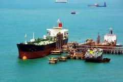 De bouw van het schip stock afbeelding