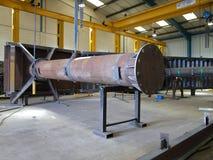 De bouw van het staal Royalty-vrije Stock Afbeeldingen