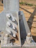 De bouw van het staal Stock Afbeeldingen