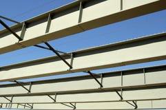 De Bouw van het Staal van de brug Stock Afbeeldingen