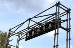 De bouw van het staalmetaal stock afbeeldingen