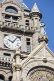 De Bouw van het stadhuis & van de Provincie stock afbeelding