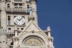 De Bouw van het stadhuis & van de Provincie Stock Afbeeldingen