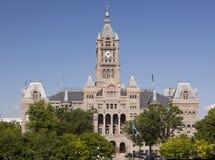 De Bouw van het stadhuis & van de Provincie Royalty-vrije Stock Afbeelding