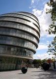 De bouw van het Stadhuis van Londen Stock Foto's