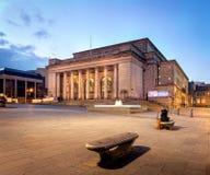De bouw van het stadhuis van Sheffield, het UK royalty-vrije stock foto