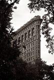 De Bouw van het strijkijzer in de Stad van New York Stock Afbeelding