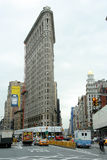 De Bouw van het Strijkijzer van New York Stock Foto