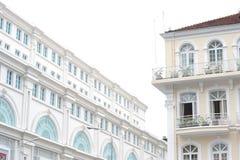 De bouw van het Vincomcentrum, Ho Chi Minh City, Vietnam stock afbeeldingen