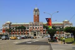 de bouw van het voorzittersbureau in Taipeh, Taiwan royalty-vrije stock afbeeldingen
