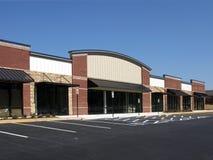 De Bouw van het winkelcentrum Stock Afbeeldingen
