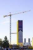 121 de bouw van het zeehavenproject Royalty-vrije Stock Afbeeldingen