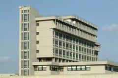 De bouw van het ziekenhuis Stock Foto