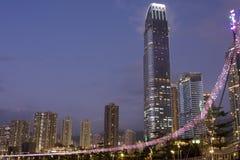 De bouw van Hongkong Royalty-vrije Stock Afbeeldingen