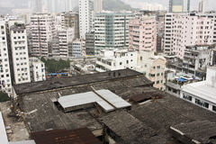 De bouw van Hongkong Royalty-vrije Stock Fotografie