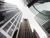 De Bouw van Hongkong Stock Foto's