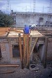 De bouw van hotel in Coatepec, Mexico royalty-vrije stock foto