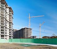 De bouw van huizen Stock Fotografie