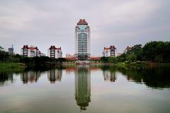 De bouw van Kahkee complex op Xiamen-Universiteit Stock Fotografie