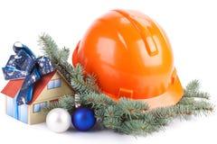 De bouw van Kerstmis stock afbeeldingen