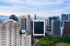 De Bouw van Kuala Lumpur Royalty-vrije Stock Afbeelding
