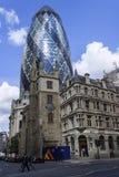 De bouw van Londen Stock Foto's
