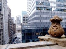 De Bouw van Manhattan Stock Afbeelding