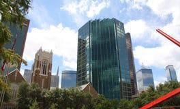 De bouw van Morden in Dallas Royalty-vrije Stock Foto's
