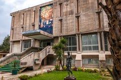 De bouw van Nationaal museum van Ethiopië royalty-vrije stock fotografie