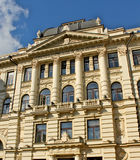 De bouw van nationale filharmonisch in hoofdstad van Litouwen Vilnius Royalty-vrije Stock Afbeelding