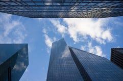 De bouw van New York Stock Afbeeldingen