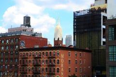 De bouw van New York, Imperiumstaat, highline royalty-vrije stock foto's