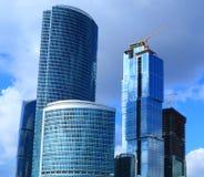 De bouw van nieuw zaken-centrum royalty-vrije stock afbeelding
