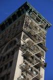 De bouw van oud klassiek New York, Manhattan Royalty-vrije Stock Foto's