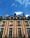 De bouw van Parijs Stock Afbeelding