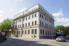 De bouw van Pools Postkantoor, Zakopane Royalty-vrije Stock Afbeeldingen