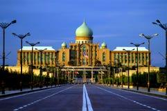 De Bouw van Putra van Perdana Royalty-vrije Stock Afbeelding