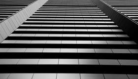 De bouw van rechte lijnen Royalty-vrije Stock Foto's