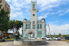 De bouw van Registratiebureau in Astrakan Royalty-vrije Stock Foto's