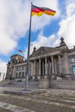 De bouw van Reichstag Stock Foto's