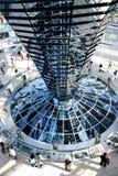 De Bouw van Reichstag in Berlijn Stock Fotografie