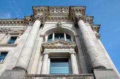 De Bouw van Reichstag in Berlijn, Duitsland Stock Afbeeldingen
