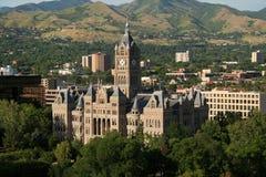 De bouw van Salt Lake City en van de provincie stock fotografie